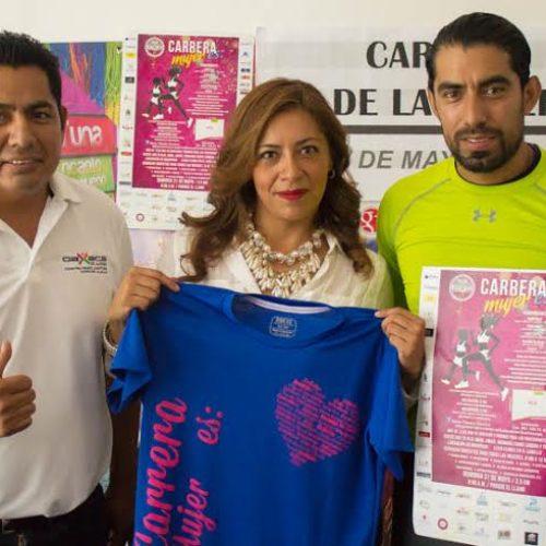 """#Oaxaca @GabinoCue @STyDE_GobOax Se llevará a cabo la Carrera atlética """"Mujer Es"""" el 31 de mayo"""