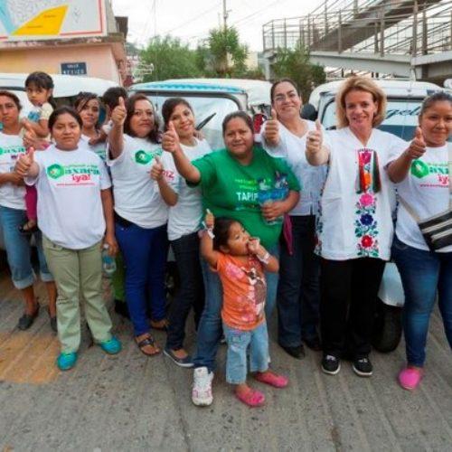 #Oaxaca @TitiRoC Mi gestión será sin descanso: Beatriz Rodríguez Casasnovas