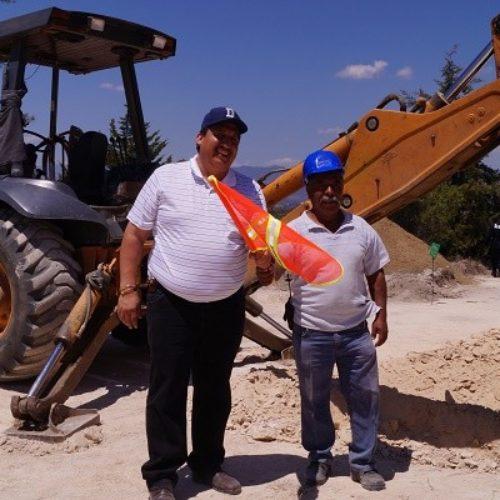 MÁS DE 13 KILÓMETROS DE LÍNEA DE CONDUCCIÓN Y CONSTRUCCIÓN DE 2 TANQUES DE ALMACENAMIENTO DE AGUA POTABLE PARA NOCHIXTLÁN.
