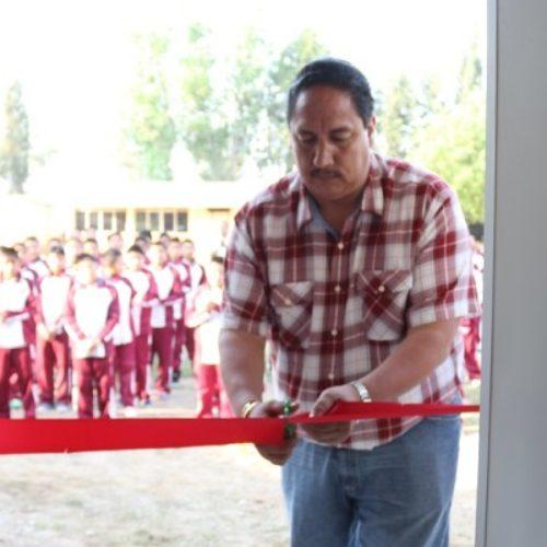 EDUCACIÓN Y SALUD PRIORIDAD DEL GOBIERNO MUNICIPAL: DANIEL CUEVAS