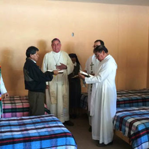 Solalinde inaugura albergue para migrantes en Huajuapan