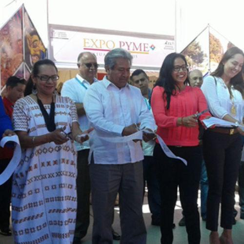 Expo PyME Huajuapan 2015, impulso de empresas y emprendedores de la Mixteca