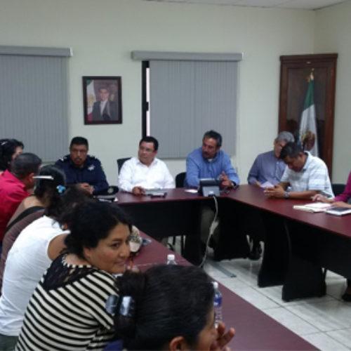 Atiende Secretaría de Vialidad y Transporte demandas de mototaxistas de la agencia Montoya