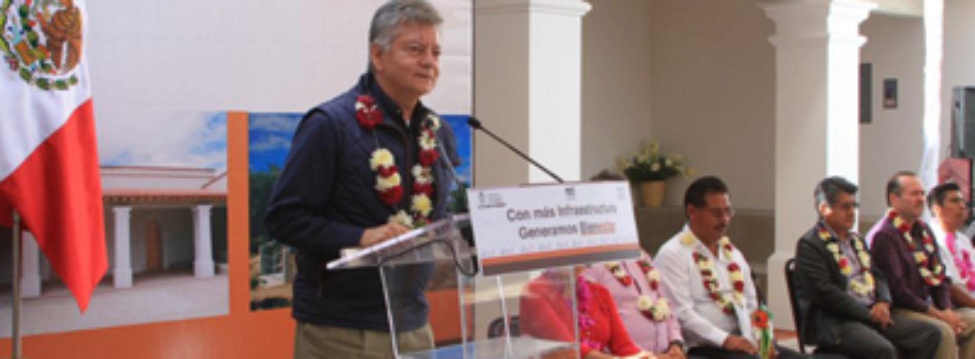 Inaugura Gobierno de Oaxaca obras de infraestructura social en Zautla