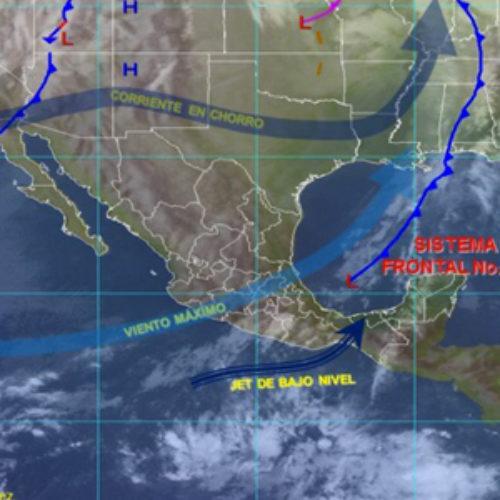 Propiciará Frente Frío 20 potencial de lluvias fuertes en territorio oaxaqueño