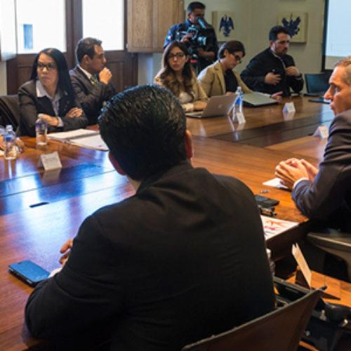 Federación y Gobierno de Oaxaca coordinan esfuerzos para la implementación del Sistema de Justicia Penal