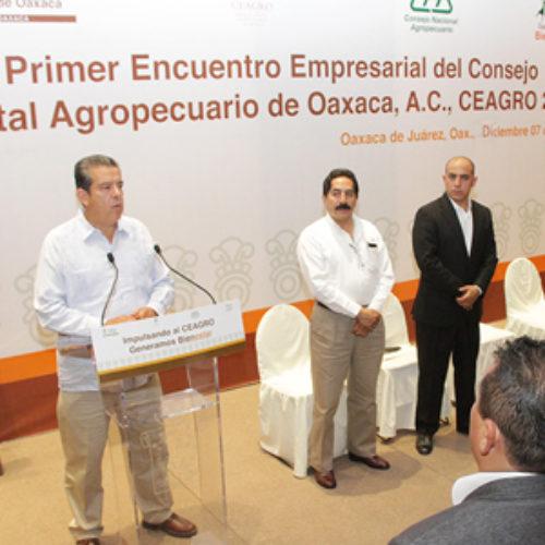 Federación y Gobierno de Oaxaca impulsan al sector agropecuario con una inversión de más de 3 mil MDP