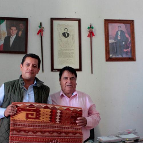 Avanza construcción del Centro Cultural Comunitario, en Teotitlán del Valle