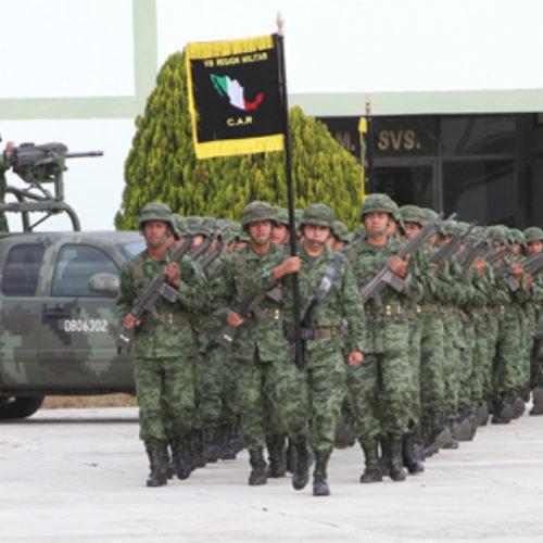 Reconoce Gobierno de Oaxaca compromisoinvaluable de los Soldados de Infantería