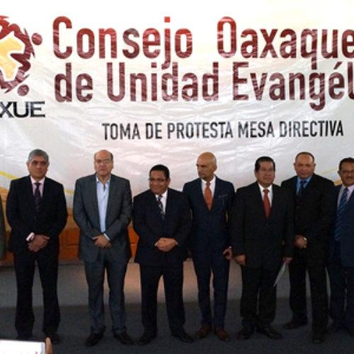 Consejo Oaxaqueño de Unidad Evangélica exhorta a retomar valores y principios