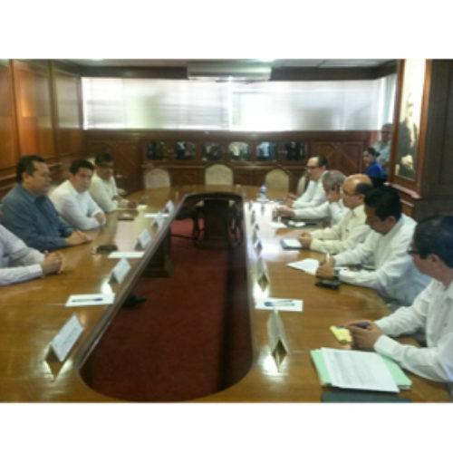 Se reúnen funcionarios de los gobiernos de Oaxaca y Chiapas, por caso Chimalapas