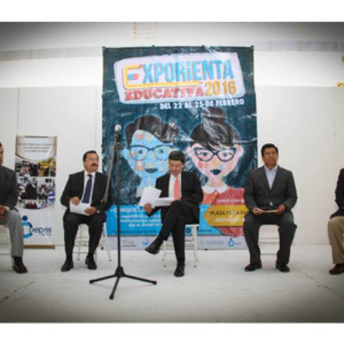 Arranca la vigésima octava edición de la Exporienta Educativa 2016