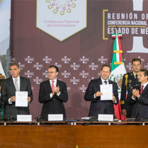 Asume Gabino Cué presidencia de la CONAGO; llama a la unidad nacional para el fortalecimiento de la República
