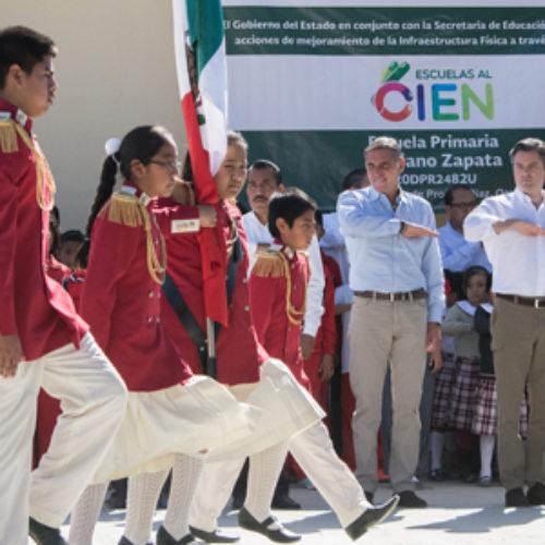 Nuño Mayer pone en marcha Escuelas al CIEN, y ratifica disposición al diálogo con disidencia magisterial