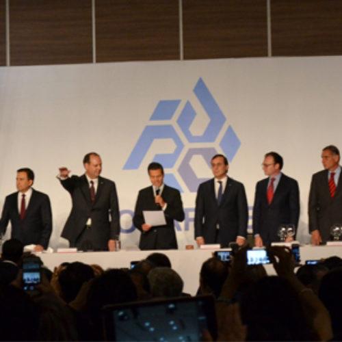 Reconoce Gabino Cué a la Coparmex como motor empresarial para el desarrollo de México