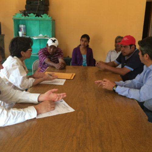La Secretaría de Administración realiza gira a municipios de la Cañada