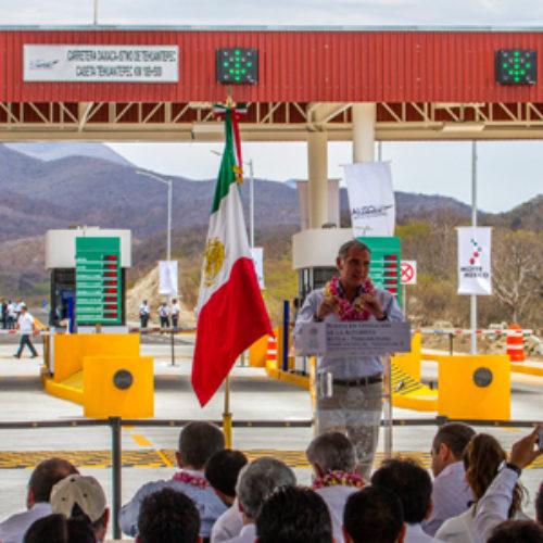Entregan Federación y Gobierno de Oaxaca Tramo III de la Autopista Oaxaca-Istmo