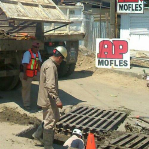 Implementa SAPAO acciones emergentes de supervisión y mantenimiento en sistema pluvial y alcantarillado de la ciudad