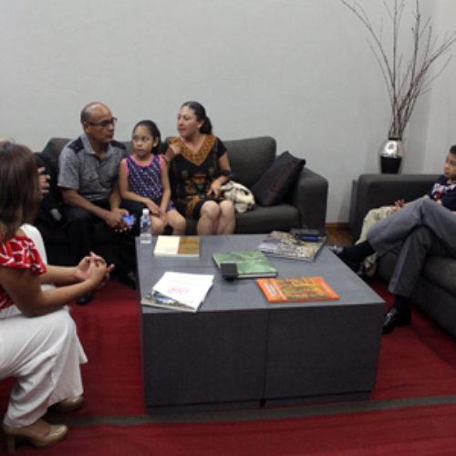 Gobierno de Oaxaca estrecha lazos con la Fundación Healthy and Happy Kids para atender a niños con padecimientos graves