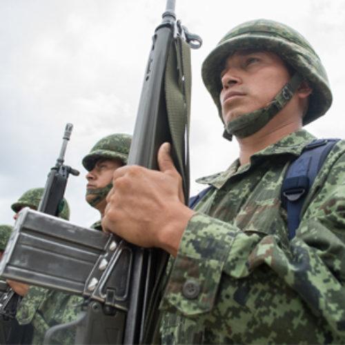 Llama Gobierno de Oaxaca a soldados del SMN trabajar por un mejor país