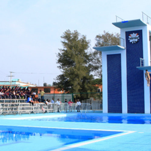 Inauguran Fosa de Clavados del Polideportivo Zona Poniente del ITO