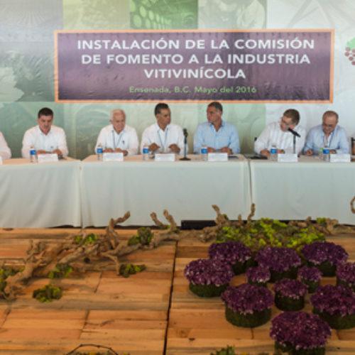 Impulsa CONAGO desarrollo industrial vitivinícola para  fortalecer la economía nacional: Gabino Cué