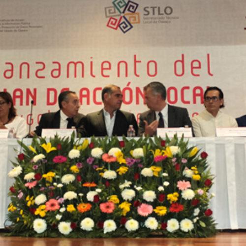 Se pone en marcha Plan de Acción Local de Gobierno Abierto en Oaxaca