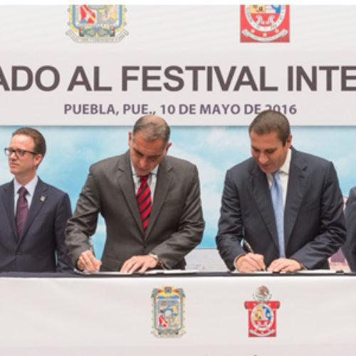 Oaxaca y Puebla suman voluntades para promover el desarrollo turístico y cultural: Gabino Cué