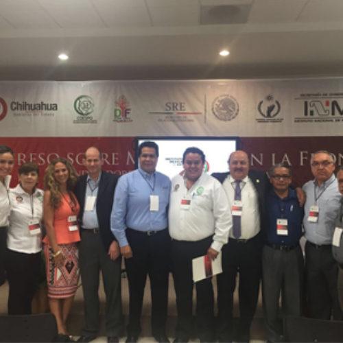 IOAM, presente en Primer Congreso sobre Migración en la Frontera Norte
