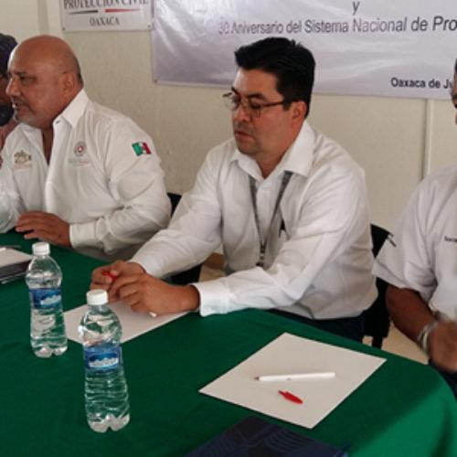 Se reúnen CEPCO y autoridades municipales de los Valles Centrales para establecer medidas ante temporada de lluvias