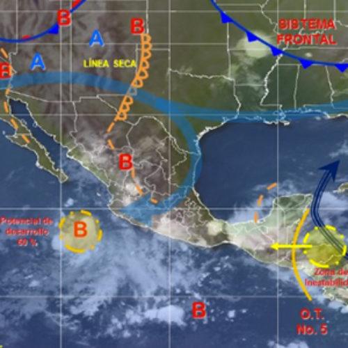 Para este viernes, prevén lluvias fuertes en Oaxaca