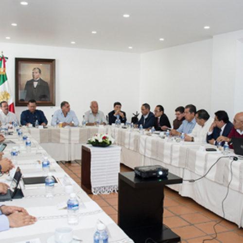 Construye Gobierno de Oaxaca ruta para conformar Comisiones de Transición y de Entrega-Recepción