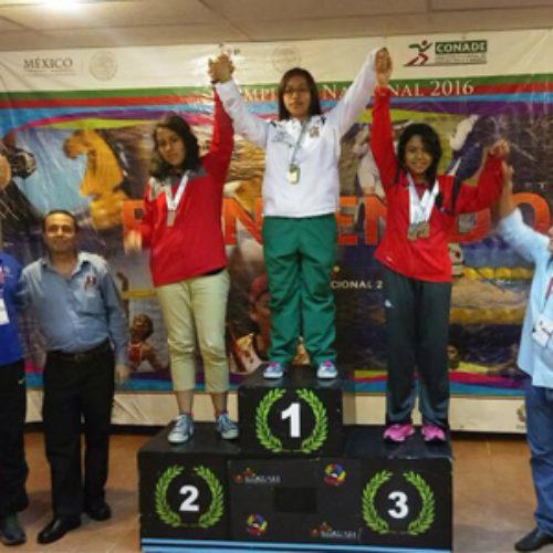 Continúa cosecha de medallas para Oaxaca en Nacional Juvenil y Olimpiada 2016