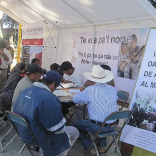 Gobierno de Oaxaca fortalece la atención y promoción de servicios en beneficio de migrantes