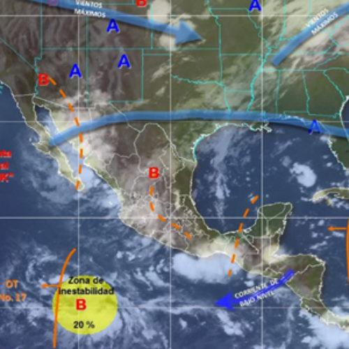 Persistirá ambiente caluroso y lluvias puntuales muy fuertes en Oaxaca