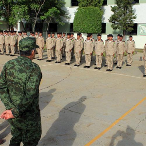 Ingresa segundo escalón 2016 de conscriptos del Servicio Militar Nacional
