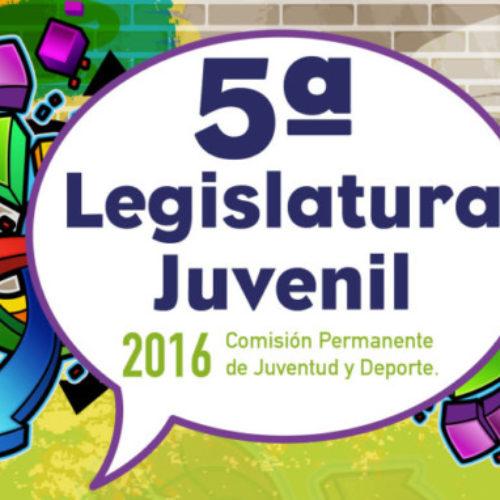CONGRESO CONVOCA LEGISLATURA JUVENIL 2016