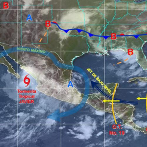 Prevén potencial de tormentas puntuales fuertes en Oaxaca