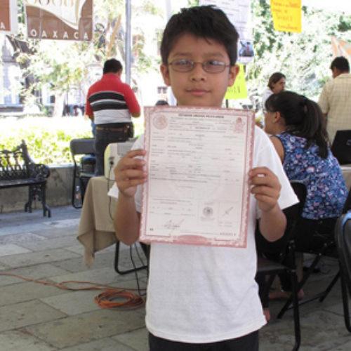 """Inicia Registro Civil Programa """"Un acta y todos a la escuela"""""""
