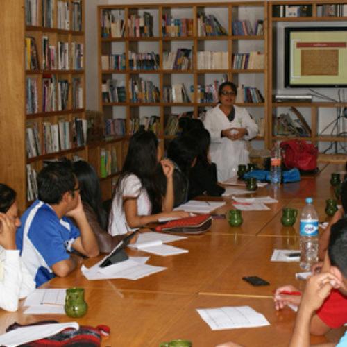 Capacita COESIDA a egresados de la Escuela Normal Bilingüe e Intercultural de Oaxaca