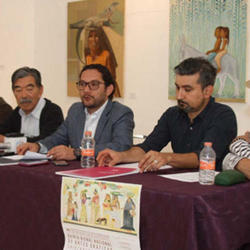 Se consolida Oaxaca como baluarte de la gráfica en la Bienal Takeda