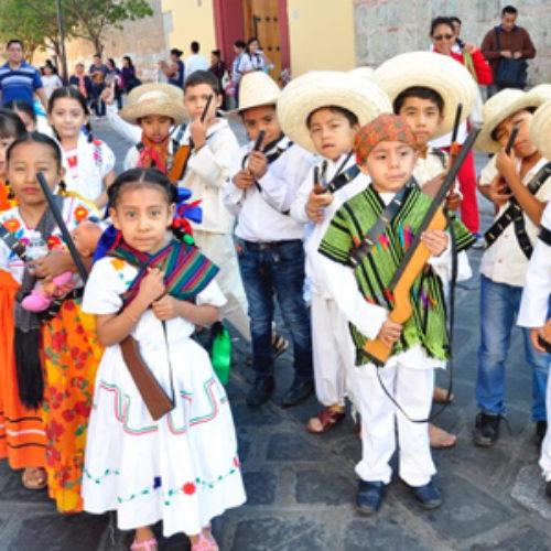 Participarán escolares en ceremonia conmemorativa del 106 Aniversario del Inicio de la Revolución Mexicana