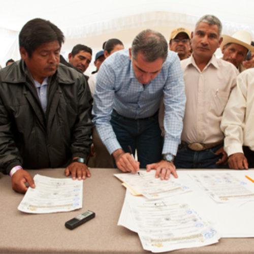 En seis años, impulsa Gobierno de Gabino Cué gobernabilidad en Oaxaca