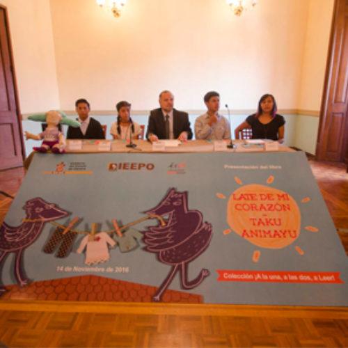 "Presenta IEEPO libro ""Late de mi corazón"", escrito por escolares oaxaqueños"