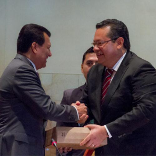 Entrega Poder Ejecutivo de Oaxaca sexto y últimoInformede Resultados a la LXIII Legislatura del Congreso del Estado