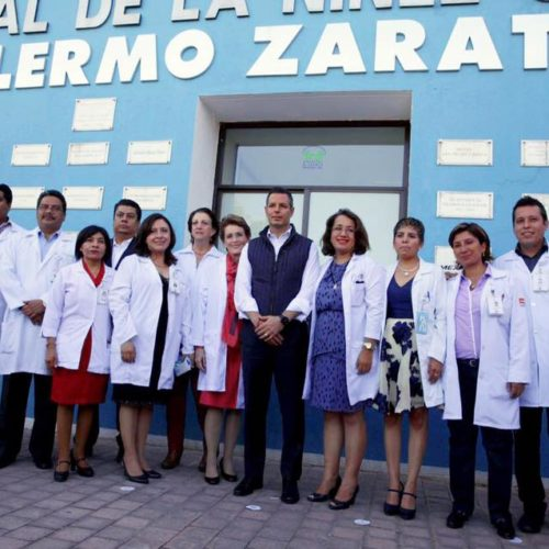 EL HOSPITAL DE LA NIÑEZ TIENE TODO NUESTRO COMPROMISO PARA MEJORAR SU INFRAESTRUCTURA, GOBERNADOR DE OAXACA.
