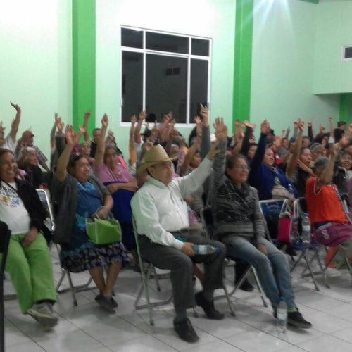 """""""CON EL APOYO Y TOTAL RESPALDO DEL COMITÉ, COMERCIANTES Y LOCATARIOS DEL MERCADO MUNICIPAL, ESTAREMOS DANDO INICIO A LOS TRABAJOS DE REMODELACIÓN DE ESTE ESPACIO COMERCIAL"""" PROFESOR JAVIER MORENO COLMENARES, PRESIDENTE DE CUILÁPAM"""