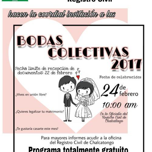 BODAS COLECTIVAS GRATUITAS EN CHALCATONGO EL 24 DE FEBRERO