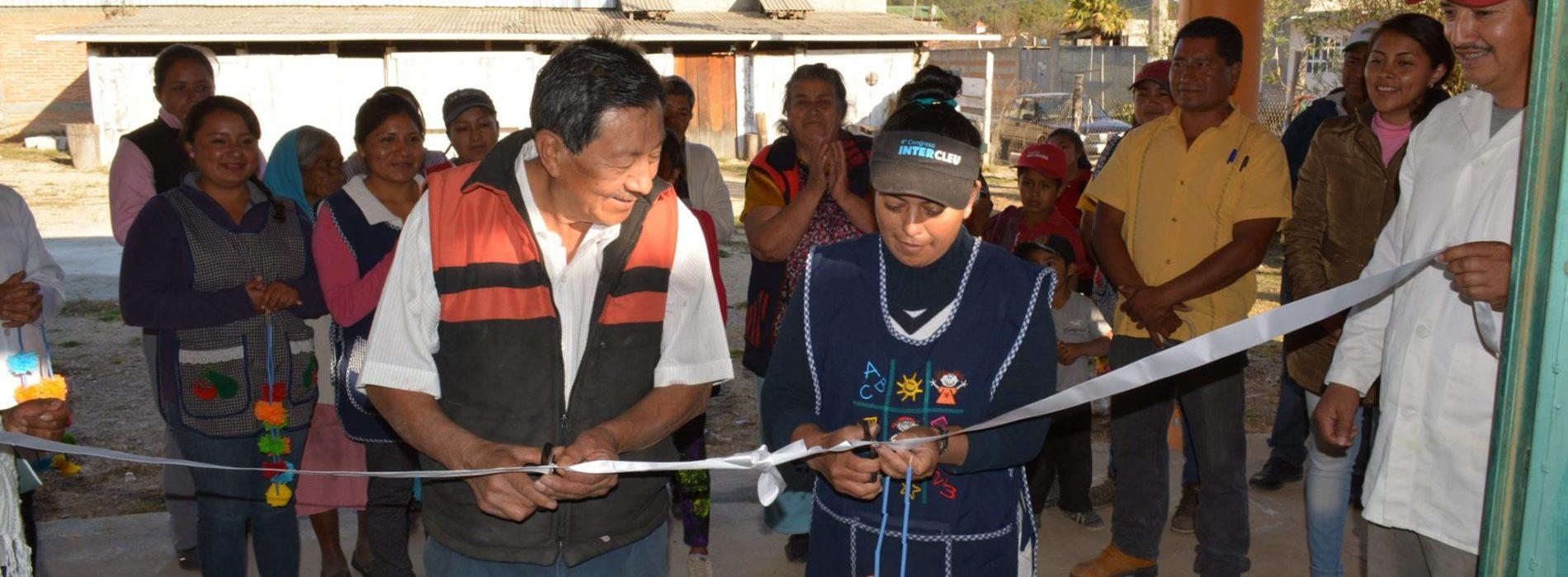 EL H. AYUNTAMIENTO DE CHALCATONGO DE HIDALGO, INAUGURA CURSO DE REPOSTERÍA EN CAÑADA MORELOS
