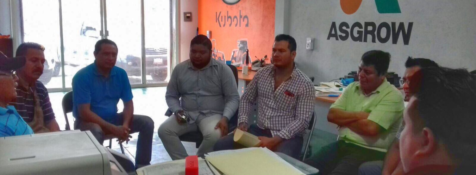 """POR UN NILTEPEC PRODUCTIVO"", REUNIÓN CON DIRECTORES DE DESARROLLO AGROPECUARIO"